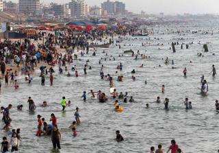 بحر غزة الطقس