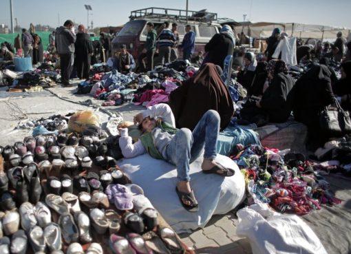 سوق بضائع مستخدمة في غزة