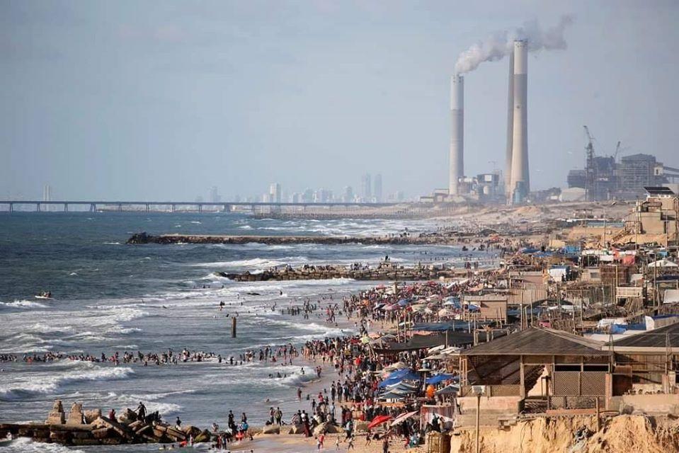 طقس غزة