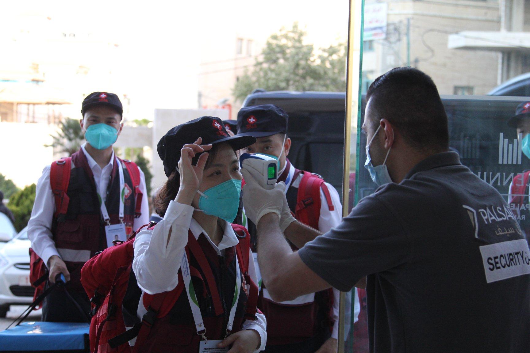 الوفد الطبي الصيني
