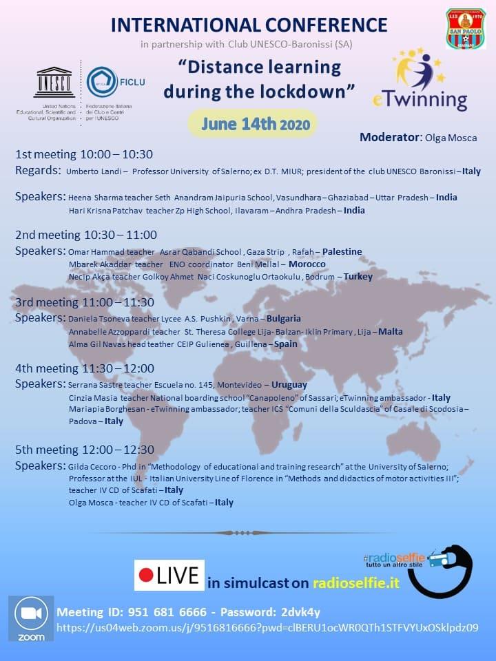 معلم من غزة يشارك بمؤتمر دولي في إيطاليا