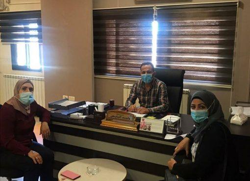 لقاء مديرية عمل رام الله ونقابة العاملات في المهن الإدارية