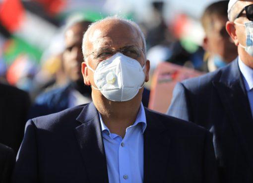 صائب عريقات أمين سر اللجنة التنفيذية لمنظمة التحرير الفلسطينية