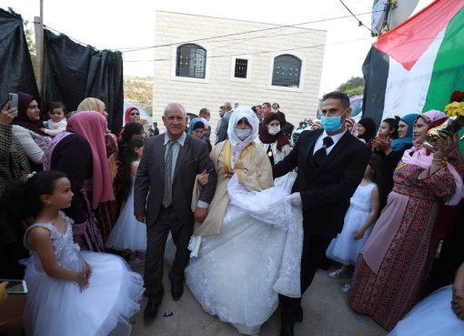 حفل زفاف في زمن كورونا - تعبيرية