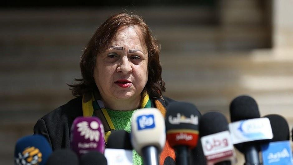 صورة: وزيرة الصحة تكشف عدد حالات كورونا النشطة في فلسطين