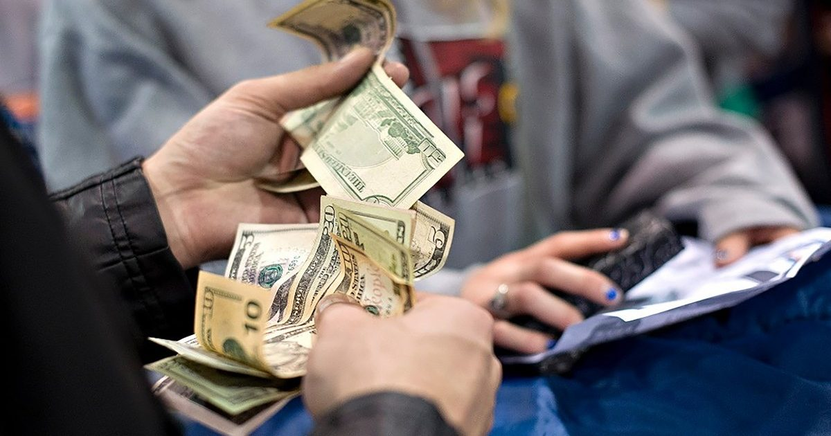 فحص المنحة القطرية 100 دولار