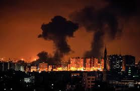 قصف إسرائيلي على قطاع غزة ردا على مزاعم اطلاق 3 صواريخ